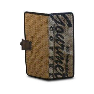 """Portemonnaie """"Coffee Wallet"""" - aus Schlauch und Kaffeesack - Uca Ruffatti"""