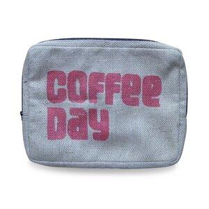 """Laptop-Tasche """"Coffee"""" - 17"""" (45 cm x 35 cm) - aus Kaffeesack - ReHats Berlin"""