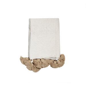 PomPom Decke Baumwolle - nandi
