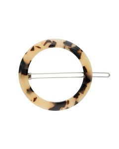 Runde Haarklammer CIRCLE HAIR CLIP aus Acetat - JAN N JUNE