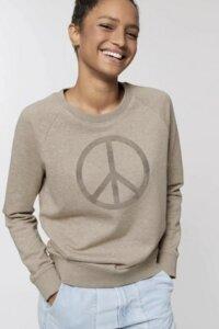Damen Sweatshirt Peace - Kultgut