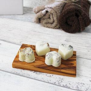 Seifenablage mit Rillen aus Olivenholz - Mitienda Shop