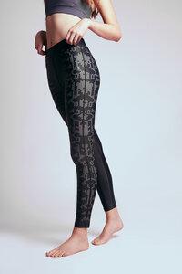 "Damen Yoga Sport Leggings aus Recyceltem Polyester ""Consciously Good""  - BESONNEN"
