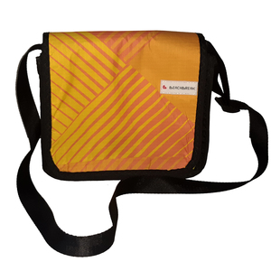 Kleine Messenger bag Size XS aus Kites / Segeltuch / Canvas UNIKAT - Beachbreak