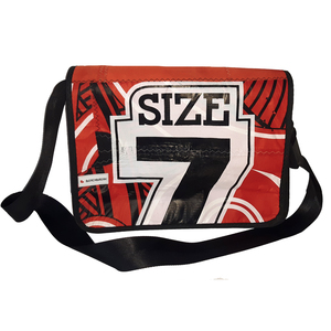 Laptoptasche Size L aus Kitesegeln / Segeltuch / canvas UNIKAT - Beachbreak