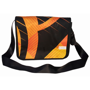 Messenger bag Laptoptasche Gr. S aus Kites / Segeltuch / canvas UNIKAT - Beachbreak