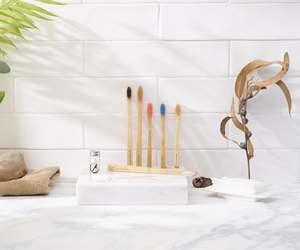 Bambus Zahnbürste Einlzeln (Medium) - Planet Bamboo