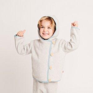 Baby-Fleecejäckchen aus 100% Bio-Baumwolle - Cheeky Apple