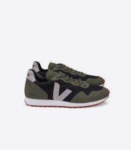 Sneaker Damen Vegan - SDU Rec B-Mesh - Black Oxford Grey Olive - Veja