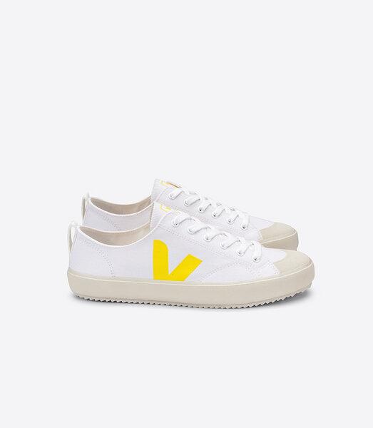 Sneaker Damen Vegan - Nova Canvas - White Tonic