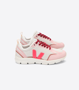 Sneaker Kinder - Junior Small Canary Alveomesh - Natural Rose Fluo Dried - Veja