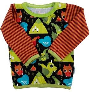 Babyshirt Drachen- Einzelstück Gr. 74 - Omilich