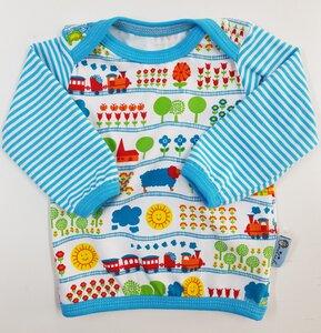 Babyshirt Eisenbahn  - Omilich