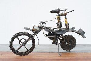 Zündkerzen Figur - Motorrad - Moogoo Creative Africa