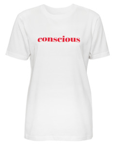 Statement Yoga T-Shirt Conscious - Natural Born Yogi
