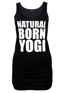 Damen Yoga Tank Shirt Natural Born Yogi - Natural Born Yogi