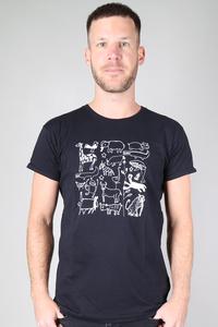 "Kipepeo ""Serengeti"" Männer Shirt. Handmade in Tanzania. - Kipepeo-Clothing"