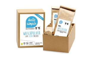 DIY Box Waschmittel - Waschpulver zum Selbermachen - Hello Simple