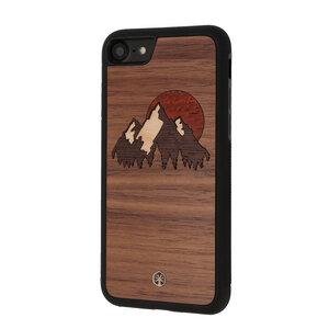 WANDERLUST Holz Hülle Case für iPhone 8/7 & Samsung Galaxy S9 - WOODTASTIC