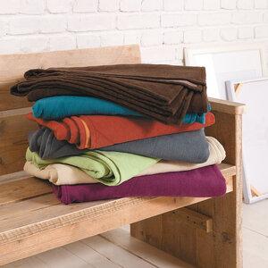Decke Stockholm Bio-Baumwolle - Ibena Textilien