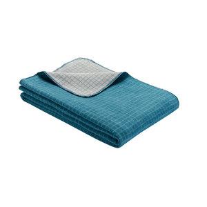 Decke Manhattan Bio-Baumwolle - Ibena Textilien
