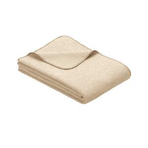 Decke Auckland Bio-Baumwolle/Bio-Wolle - Ibena Textilien