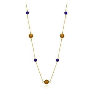 Halskette Gisela  Bio aus Golden Grass - Aline Celi