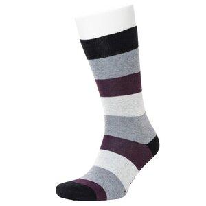 Multi Colour Stripe Pattern Socks - Opi & Max