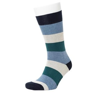 Multi Colour Stripe Pattern Socks - Opi & Max
