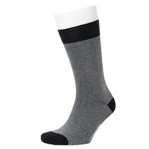 Herringbone Pattern Socks - Opi & Max