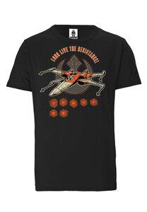 LOGOSHIRT - Star Wars - Resistance - Starfighter - Organic T-Shirt  - LOGOSH!RT