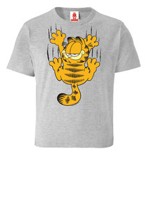 LOGOSHIRT - Comics - Kater - Garfield - Kratzen - Kinder Bio T-Shirt  - LOGOSH!RT