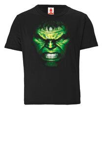 LOGOSHIRT - Marvel Comics - Hulk - Gesicht - Kinder - Bio T-Shirt  - LOGOSH!RT