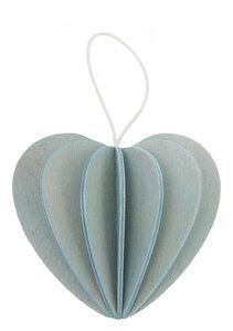 3D Grußkarte & Deko aus Birkenholz - LOVI Herz - zum Selberbasteln - Lovi