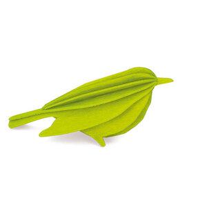 Süße Deko & Grußkarte - LOVI Vogel aus Birke zum Selberbasteln - Lovi