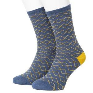 ZigZag Pattern Socks - Opi & Max