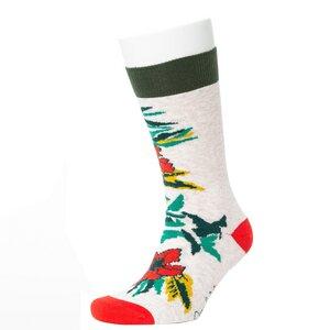 Flower Pattern Socks - Opi & Max
