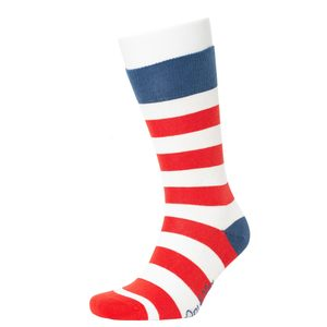Wide Stripe Pattern Socks - Opi & Max