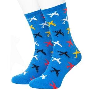 Plane Pattern Socks - Opi & Max
