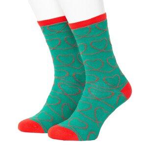 Heart Pattern Socks 36-40 - Opi & Max