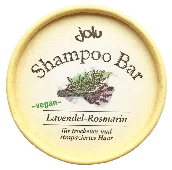 Jolu festes Shampoo Lavendel & Rosmarin