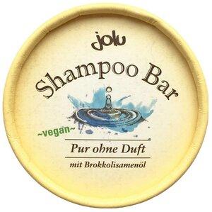 Jolu festes Shampoo Pur mit Brokkolisamenöl  - Jolu Naturkosmetik