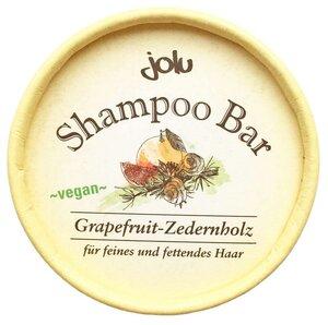 Jolu festes Shampoo Grapfruit & Zedernholz  - Jolu Naturkosmetik