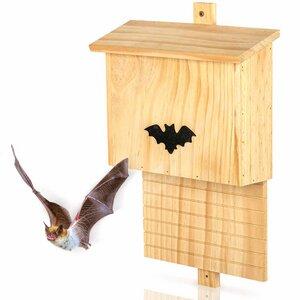 Wetterfeste Fledermaushöhle / Fledermauskasten für den Garten - Skojig