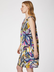 Tencel Print Midi Kleid - Floreale Dress - Thought