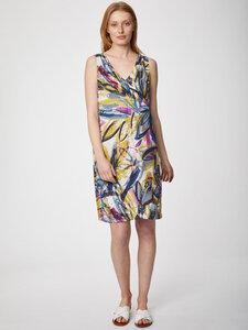 Tencel Print Midi Kleid - Floreale Dress - Thought