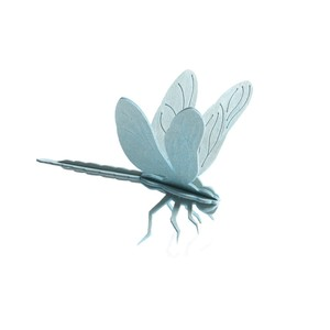 Süße Deko & Grußkarte - LOVI Libelle aus Birke zum Selberbasteln - Lovi