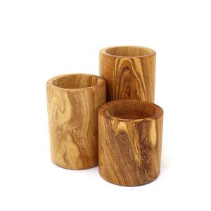 Teelichthalter Set aus Holz - Mitienda Shop