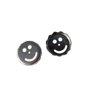 Magnetseifenhalter Ersatzplättchen SMILE  (2 Stück) - Olivenholz erleben