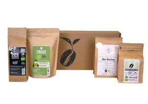 Entdeckerpaket hochwertiger Bio-Kaffee (ganze Bohne) - Coffee-Up!